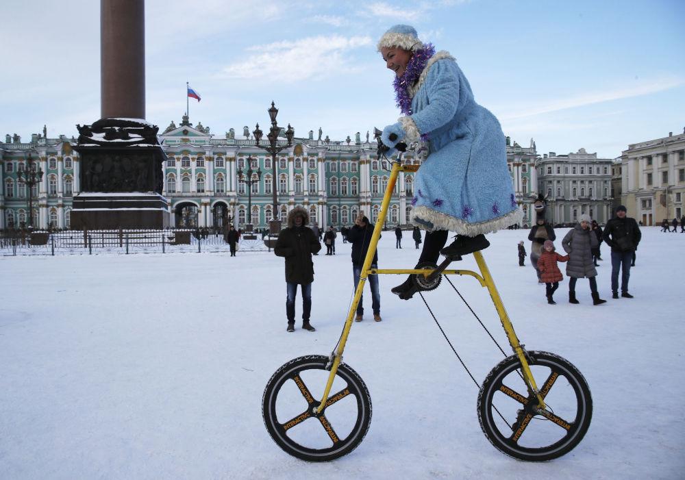 Śnieżynka w Petersburgu