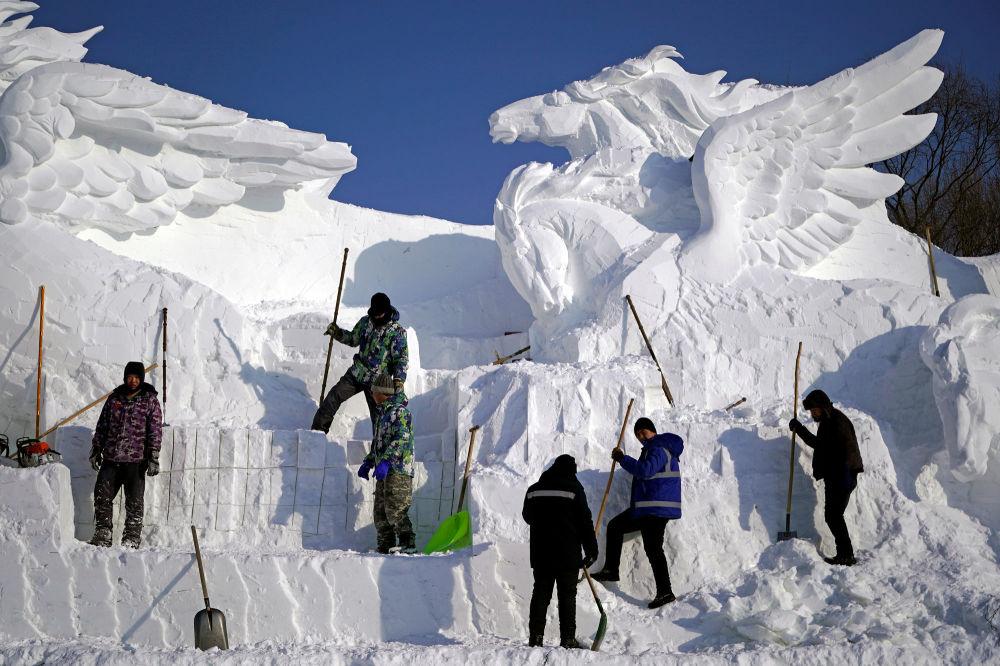 Międzynarodowy Festiwal Śniegu i Lodu w Chinach