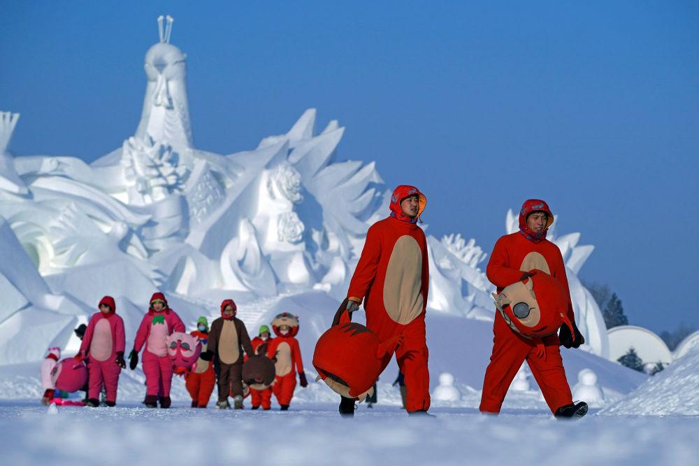 Festiwal Śniegu i Lodu w Chinach