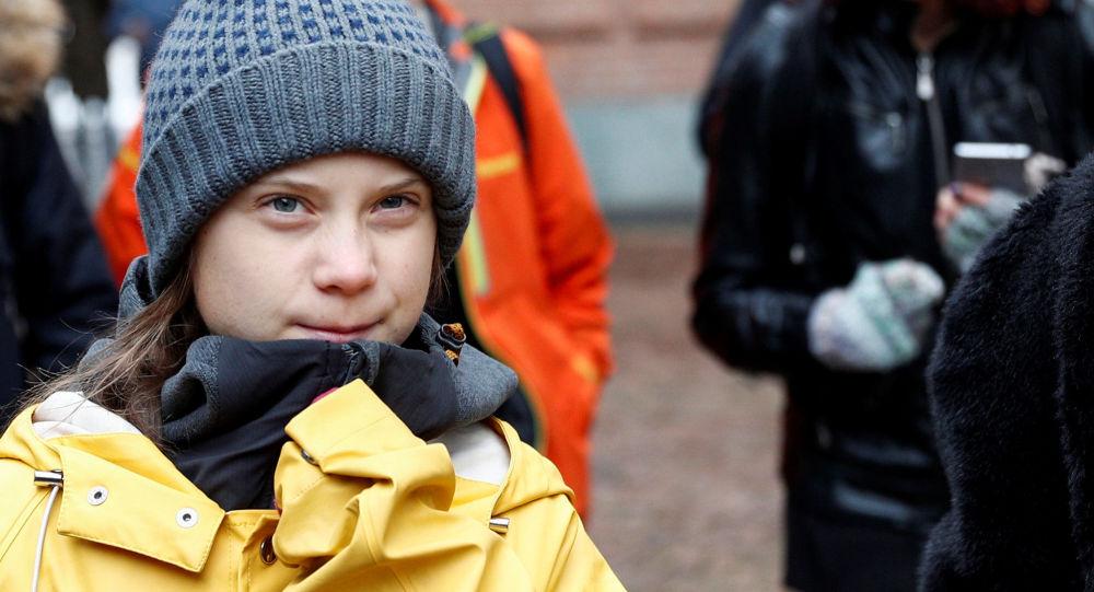 Szwedzka aktywistka klimatyczna Greta Thunberg