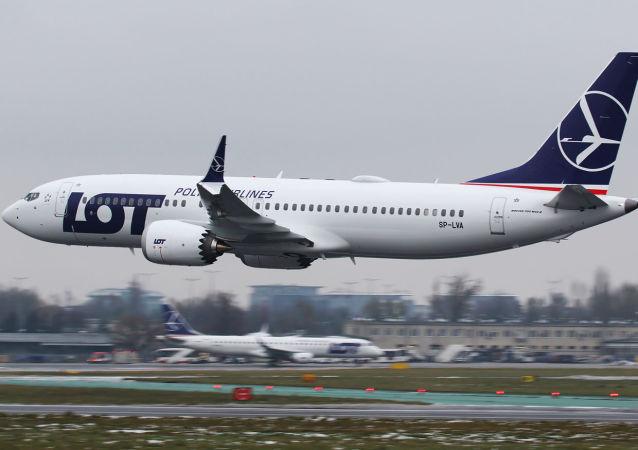 Boeing 737 MAX 8 polskich linii lotnicych LOT