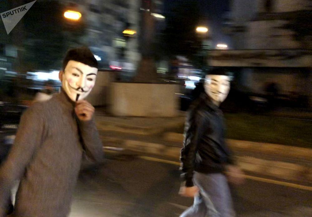 Akcje protestacyjne w Bejrucie.
