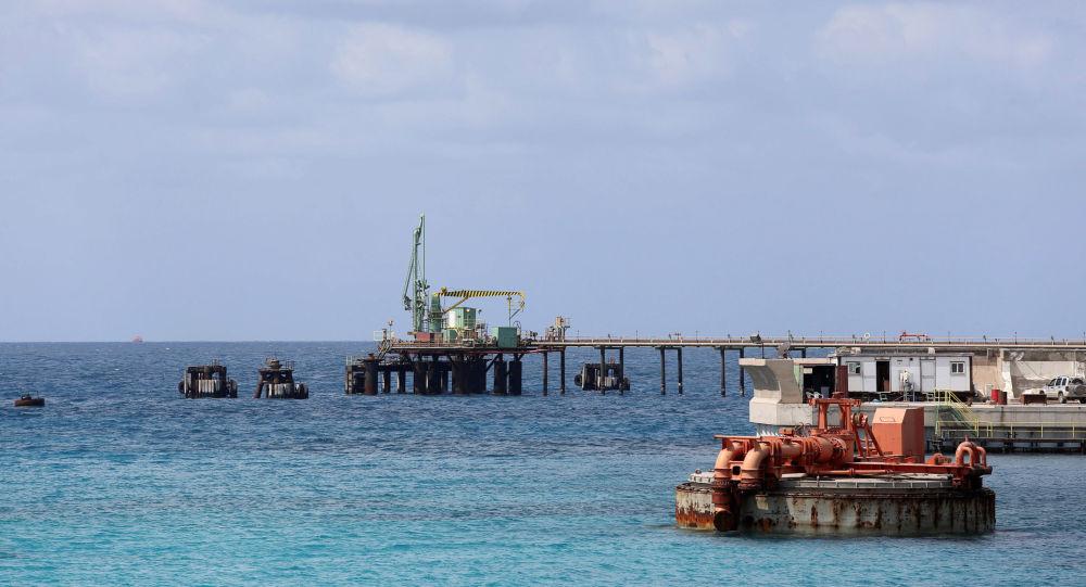 Jeden z libijskich portów naftowych