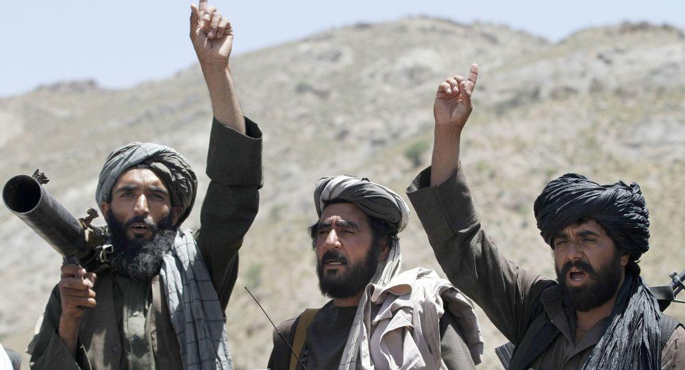 Członkowie ruchu Taliban w Afganistanie