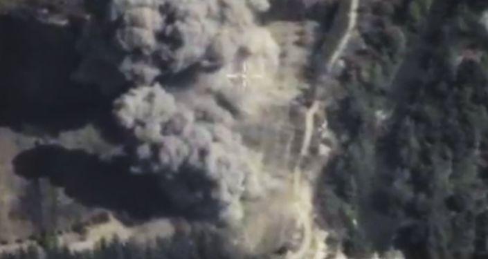 Naloty rosyjskiego lotnictwa na pozycje PI w Syrii