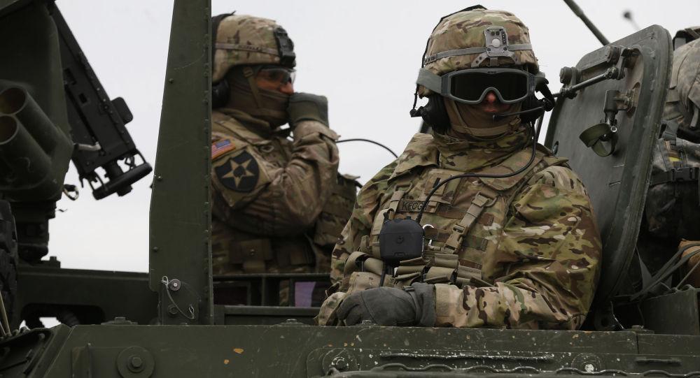 Amerykańscy żołnierze podczas szkoleń wojskowych w Europie