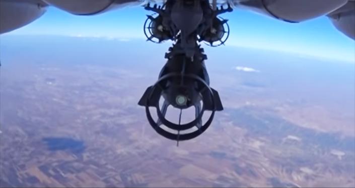 Bombardowanie pozycji Państwa Islamskiego w Syrii przez lotnictwo Rosji