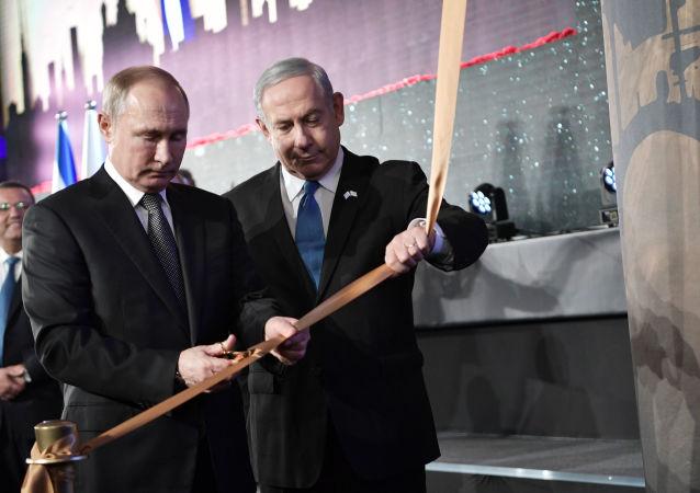 Odsłonięcie pomnika blokady Leningradu w Jerozolimie