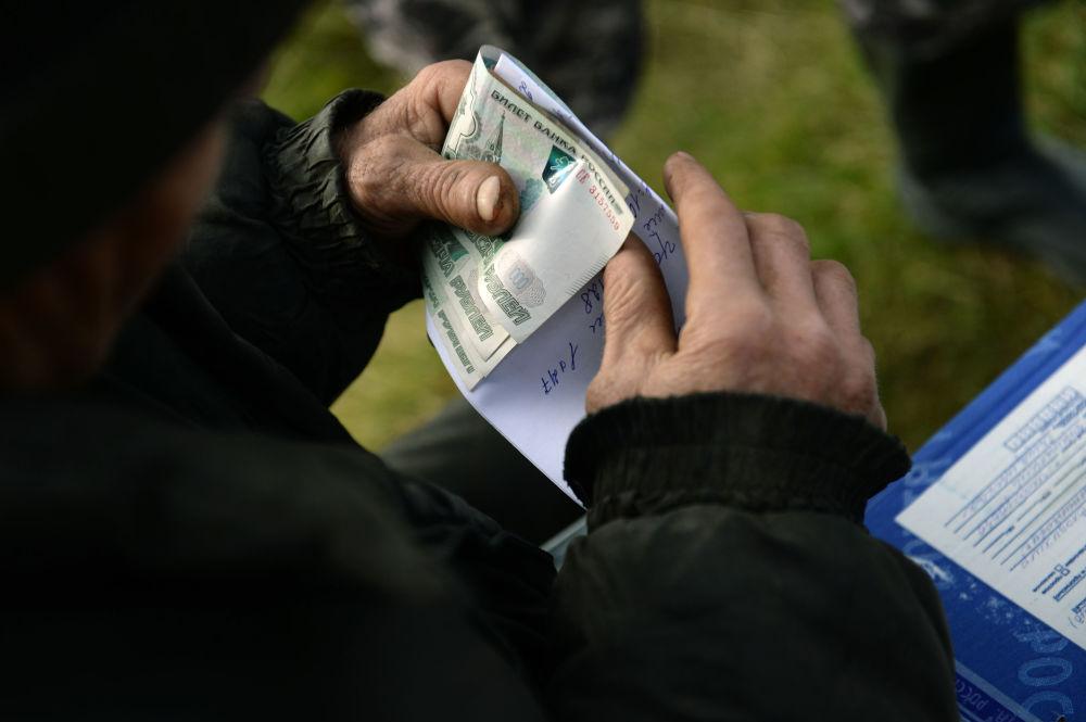 Mieszkaniec wsi Szaburowo w obwodzie swierdłowskim otrzymał emeryturę i korespondencję