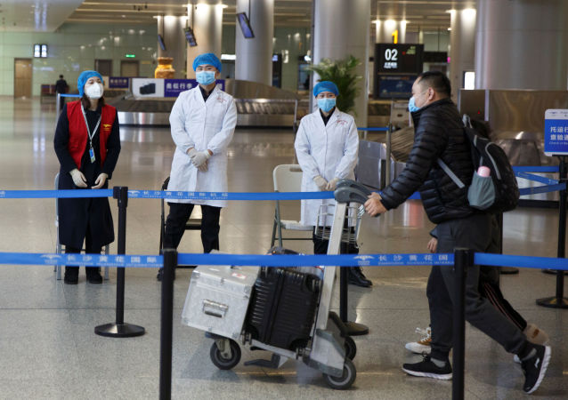 Monitoring medyczny na lotnisku Changsha, Chiny