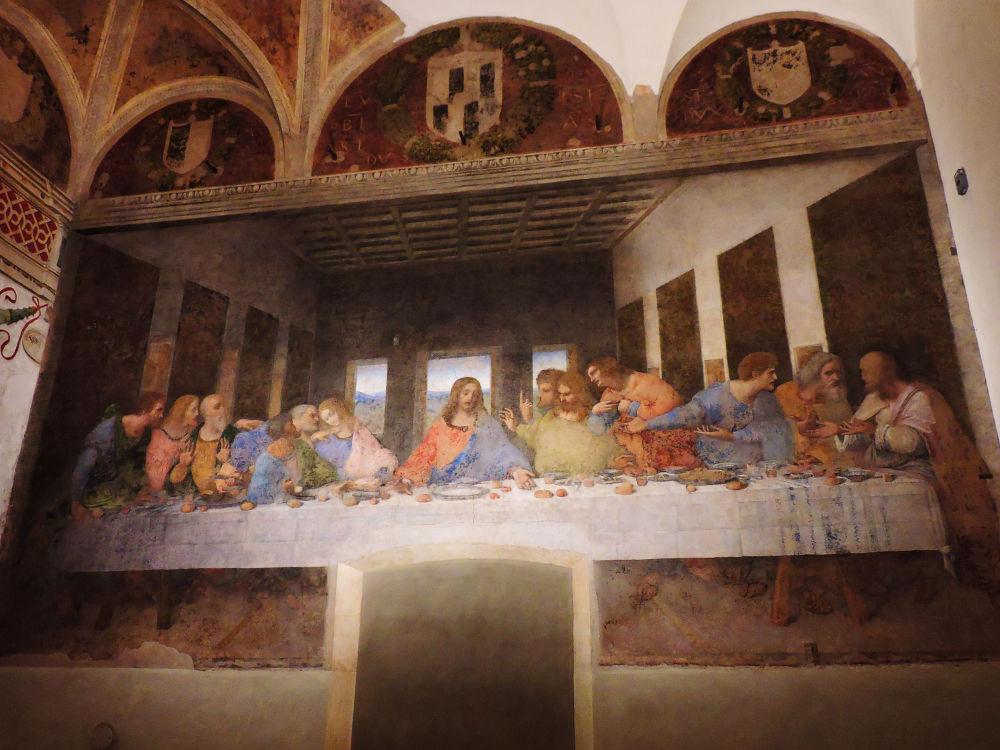 Ostatnia Wieczerza – malowidło ścienne autorstwa Leonarda da Vinci w Mediolanie