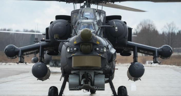 Nocny łowca Mi-28N.