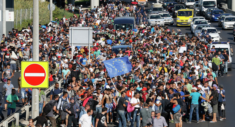 Migranci na Węgrzech