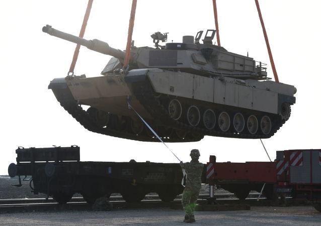 Amerykański czołg bojowy M1 Abrams