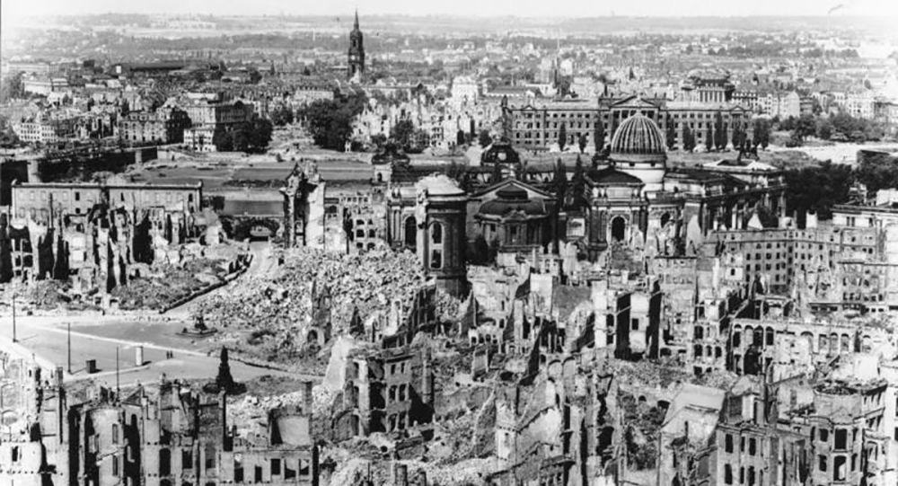 Bombardowanie Drezna, 1945 rok