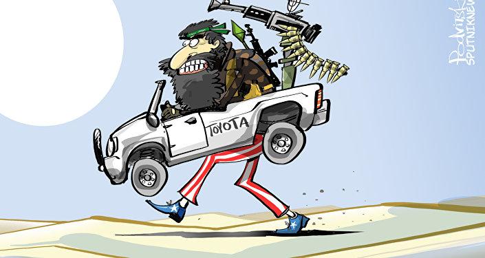 Skąd Państwo Islamskie ma tak dużo samochodów Toyota?