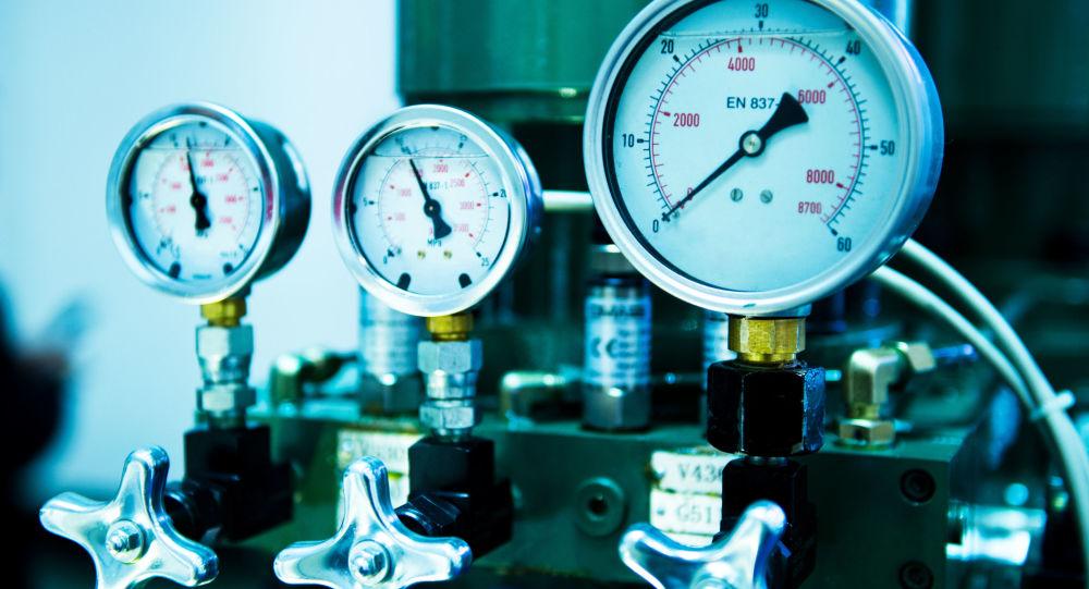 Manometr gazowy
