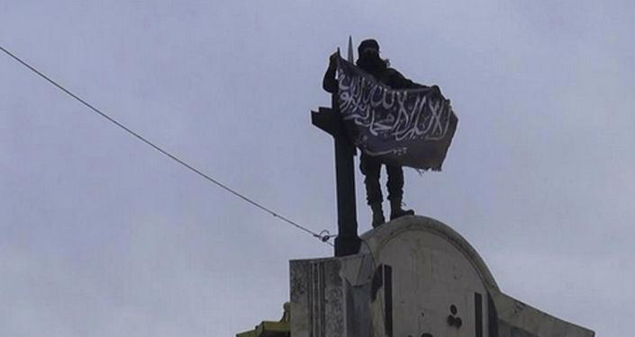 Członek organizacji terrorystycznej Dżabhat an-Nusra w Syrii