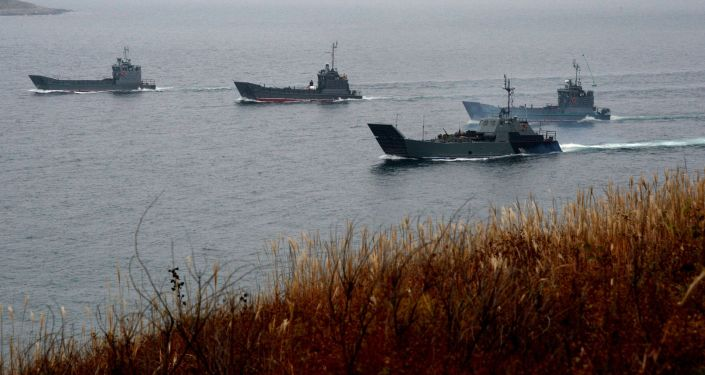Flota Pacyficzna przeprowadziła w Kraju Nadmorskim ćwiczenia