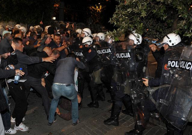 Protesty w Czarnogórze