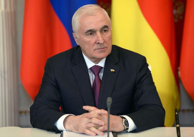 Prezydent Republiki Osetii Południowej Leonid Tibiłow
