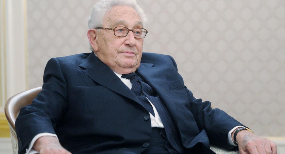 Były sekretarz stanu USA Henry Kissinger w Moskwie