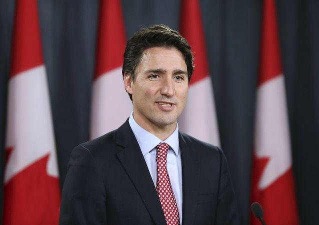 Lider Partii Liberalnej Kanady Justin Trudeau