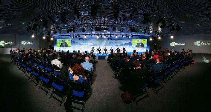Posiedzenie Międzynarodowego klubu dyskusyjnego Wałdaj w Soczi
