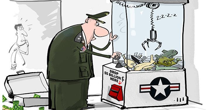 USA baiwą się w bombowce