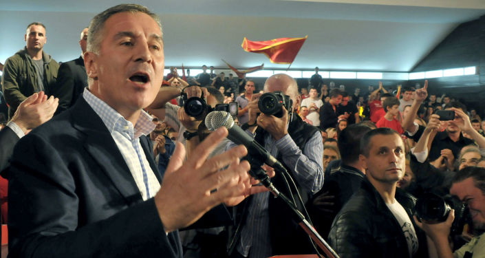 Premier Czarnogóry Milo Djukanović