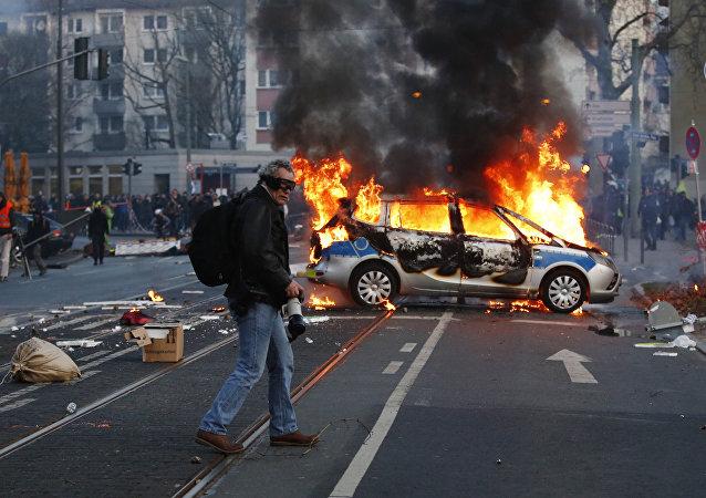 Zamieszki we Frankfurcie nad Menem