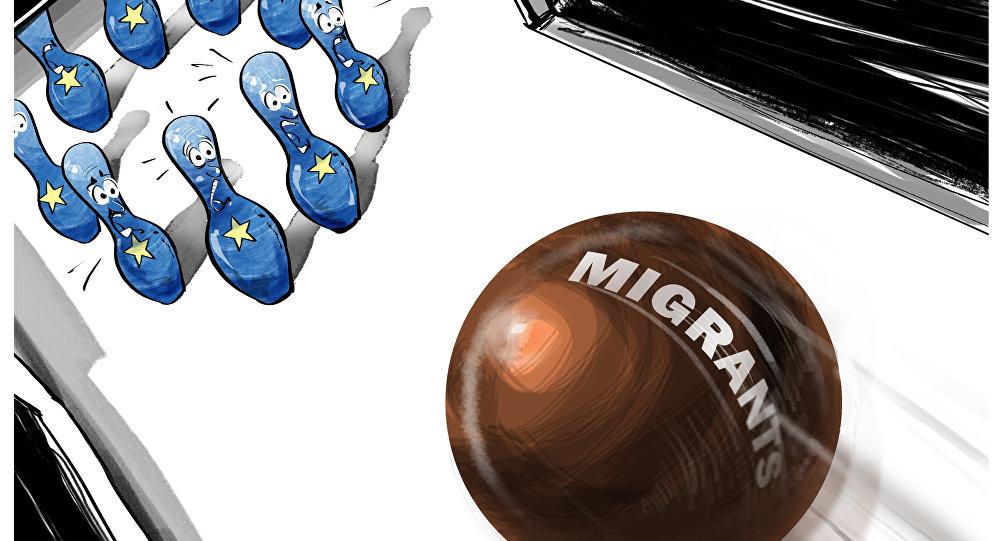 Imigranci strącą UE