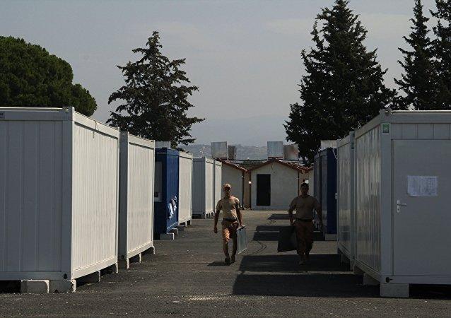 Rosyjska baza wojskowa Hmeimim w Syrii