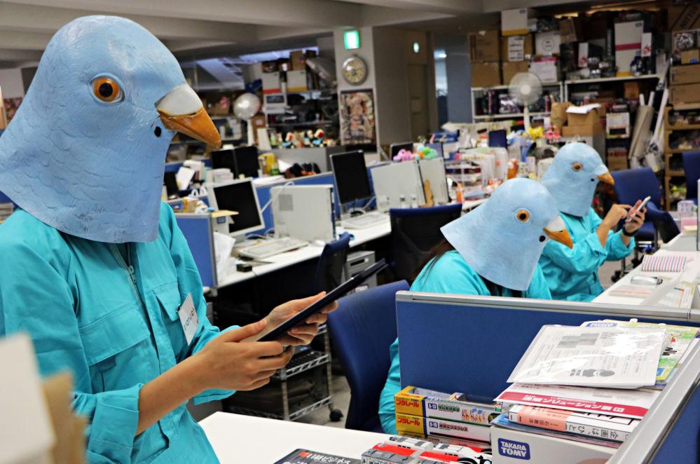 Przygotowanie do obchodzenia Halloween w Tokio
