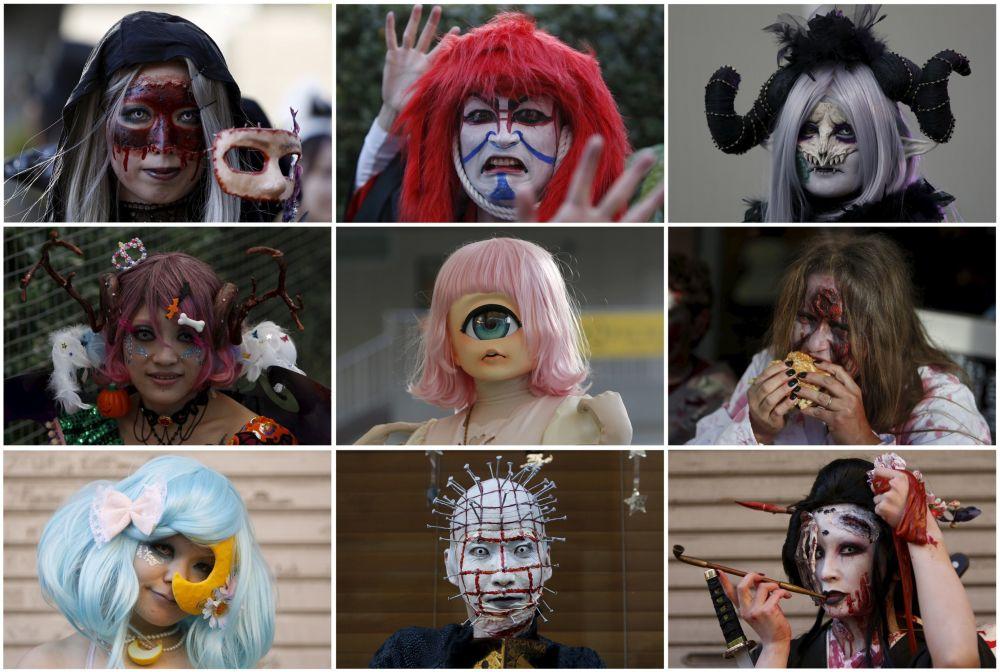 Halloween w Tokio