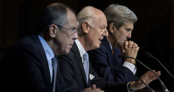 Spotkanie w Wiedniu w sprawie uregulowania sytuacji w Syrii