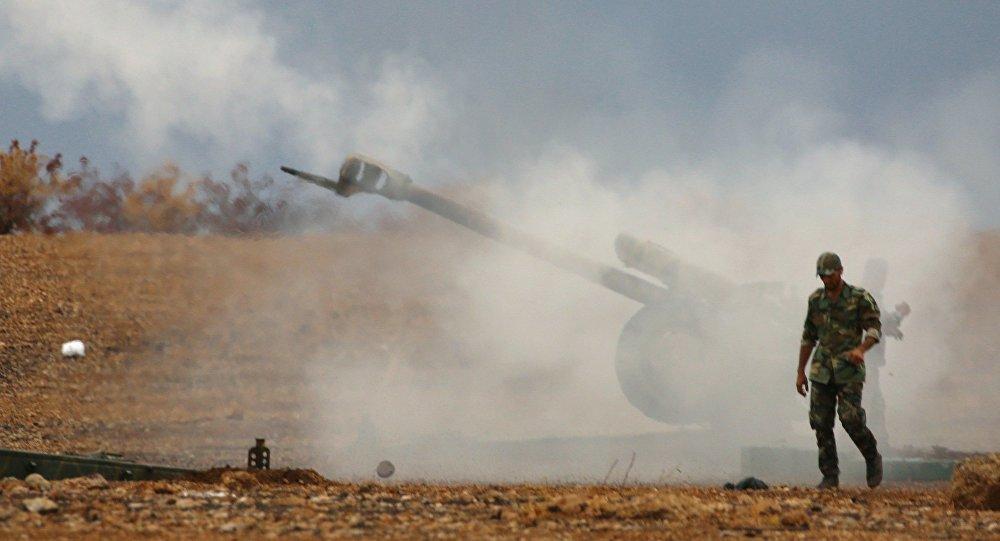 Ofensywa syryjskiej armii
