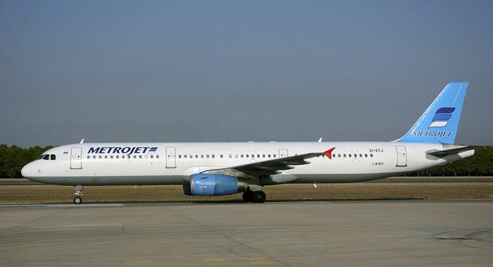 Samolot Airbus А-321 linii lotniczych Metrojet, który rozbił się w Egipcie