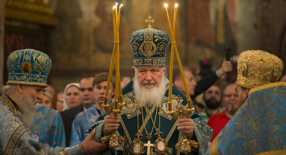 Patriarcha moskiewski i całej Rusi Cyryl w Dniu Jedności Narodowej