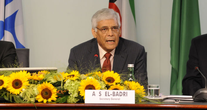 Sekretarz generalny OPEC Abdallah el-Badri