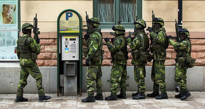 Szwedzka armia