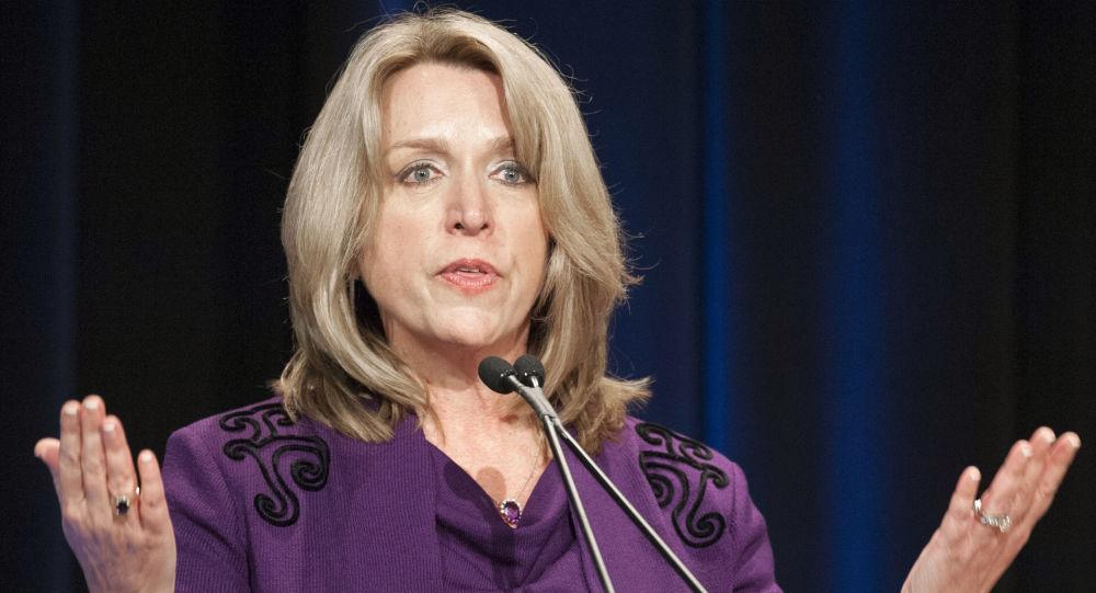 Sekretarz Sił Powietrznych USA Deborah Lee James w Pentagonie