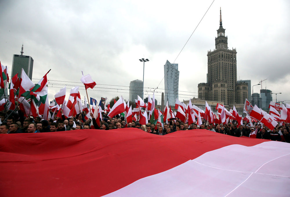 Dzień Niepodległości w Warszawie, 11 listopada 2015 r.