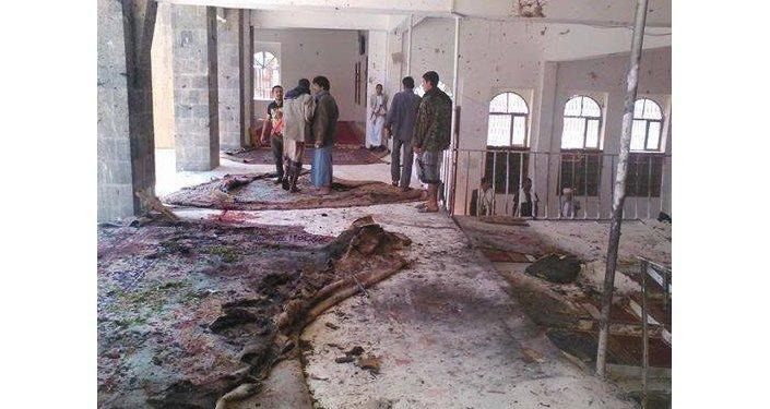 Zamachy na meczety w Jemenie