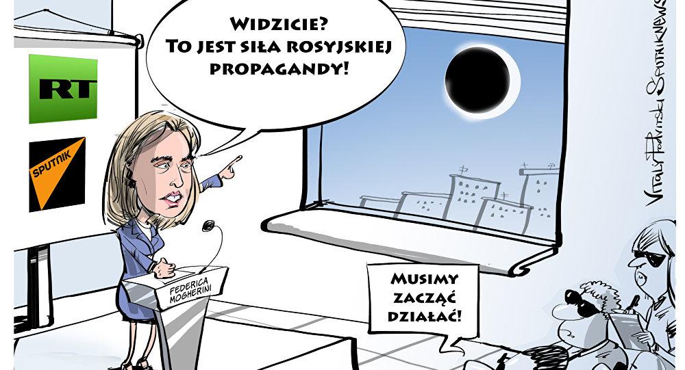 Widzicie? To jest siła rosyjskiej propagandy!
