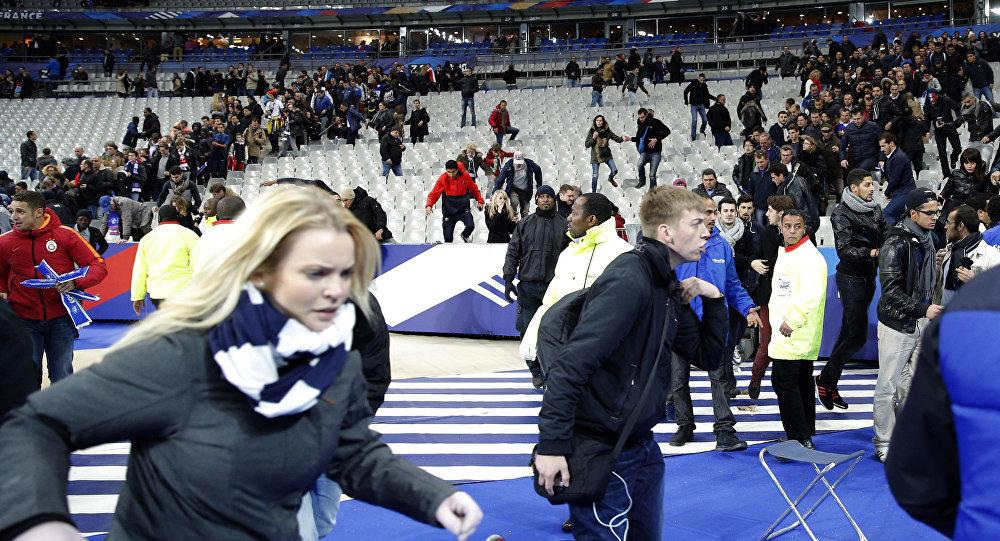 Zamach na stadionie Stade de France w Paryżu