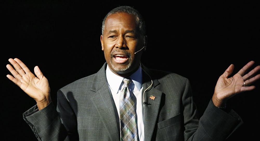 Kandydat republikanów na prezydenta USA Ben Carson