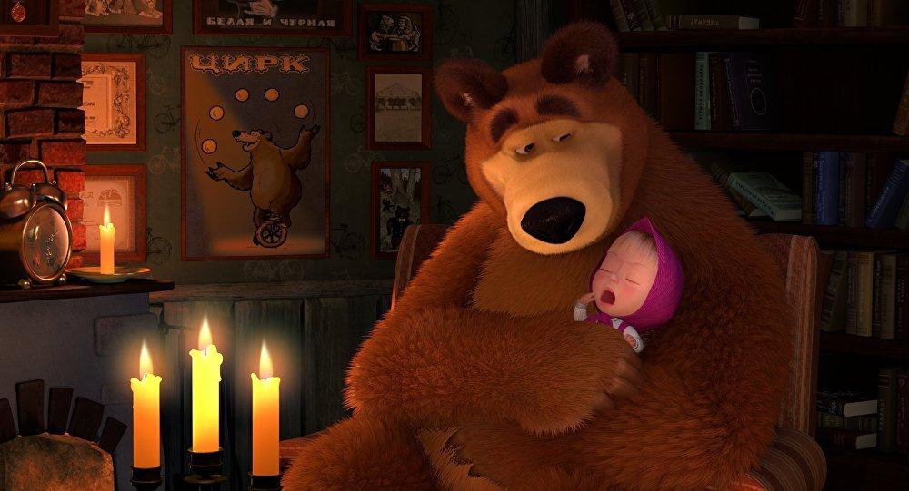 Rosyjski serial animowany Masza i Niedźwiedź