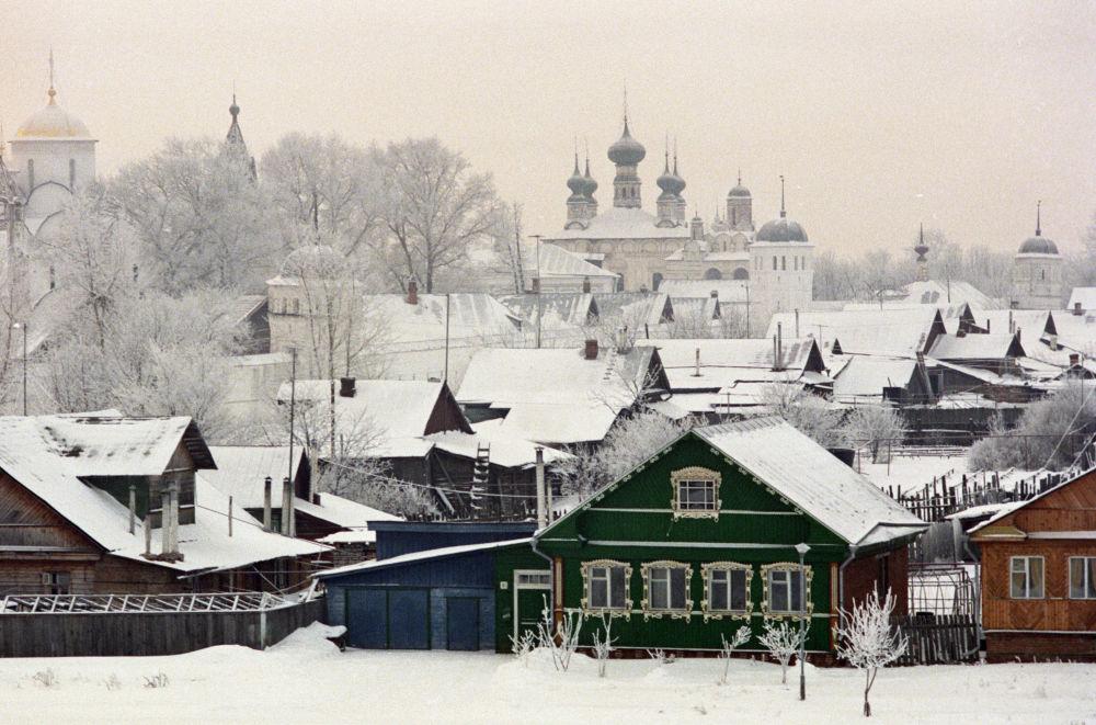 Poranek w Suzdalu