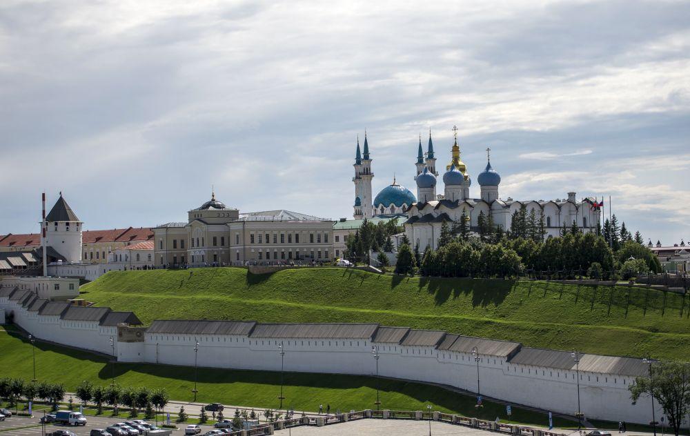 Kreml kazański - najstarsza część Kazania